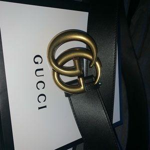 Gucci belt size 38 in women(men can wear as well)
